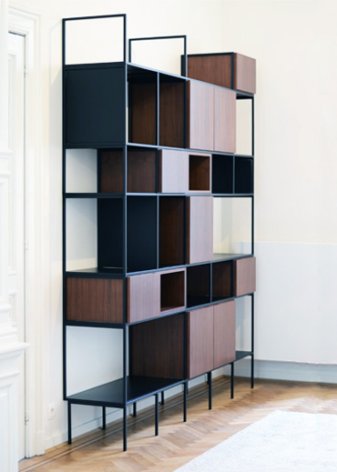 bookcase WALNUT