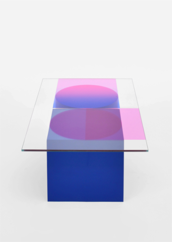 low table COMPOSITION blue side a