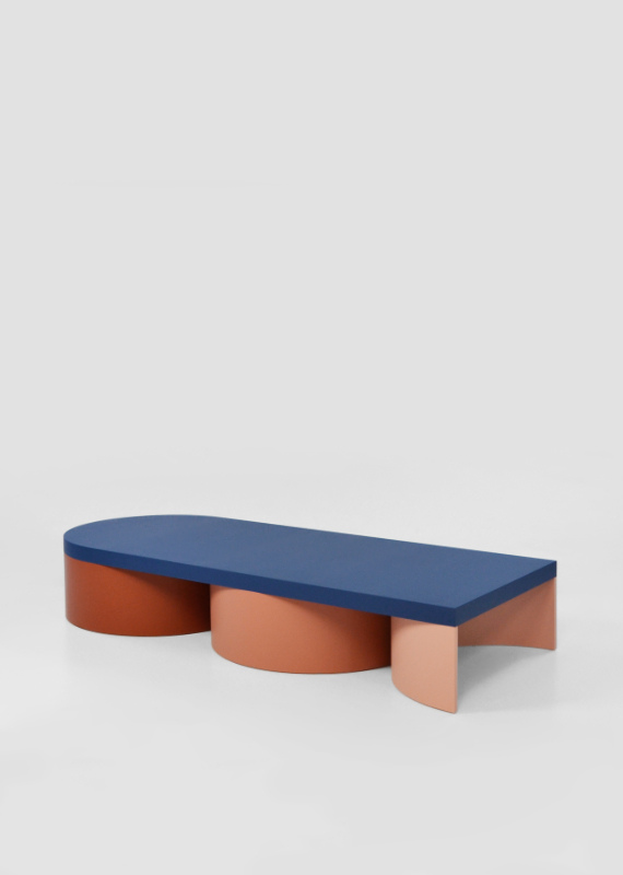 Design forward and beautiful low table for your home interior. Colorful lowtable with a contemporary design. Available in various color combinations. Shipping worldwide. Made to order. Carefully handmade in our atelier. A design that adds value to every modern and contemporary home and interior.
